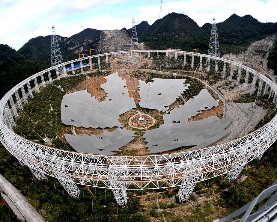 全球最大500米口径球面射电望远镜(FAST)馈源支撑系统.jpg
