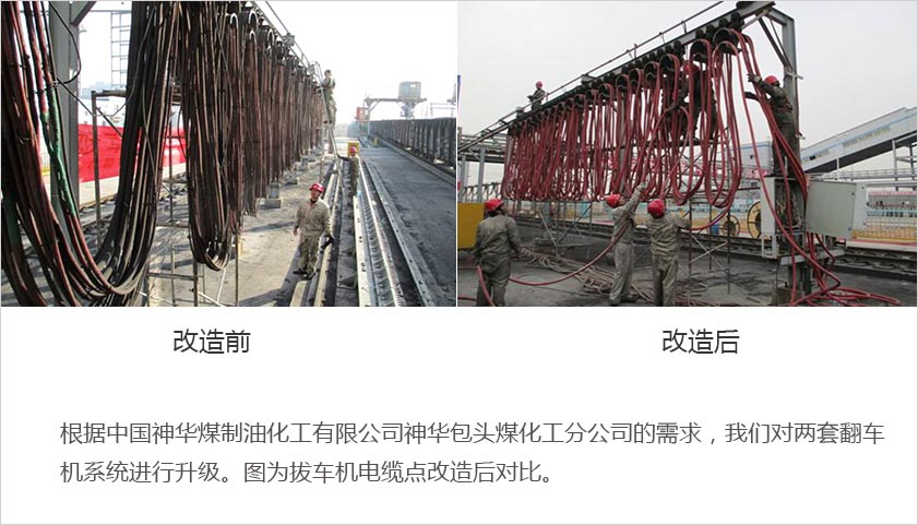 神华煤化翻车机改造项目